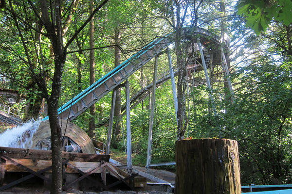 The Big Timber Log Ride is the biggest log ride in the Northwest, according to Tofte.
