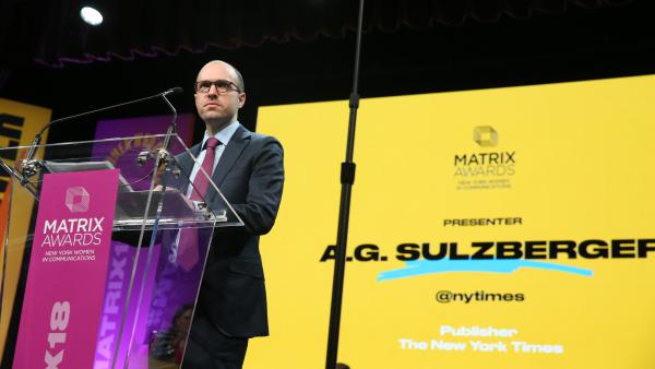 """A.G. Sulzberger, publisher of <em>The New York Times</em>, met with President Trump earlier this month and implored him to """"reconsider his broader attacks on journalism."""""""
