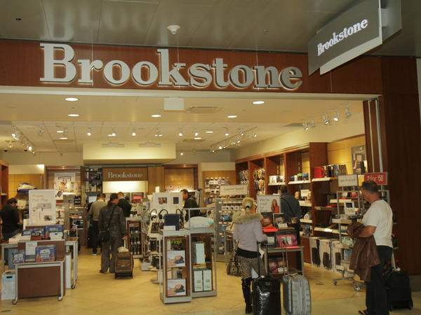 Brookstone's airport stores, like this one located in Miami International Airport, will remain open.