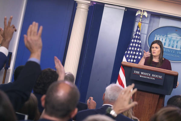 White House press secretary Sarah Sanders told reporters that other presidential administrations also used nondisclosure agreements. Employment lawyers say that's not the whole story.