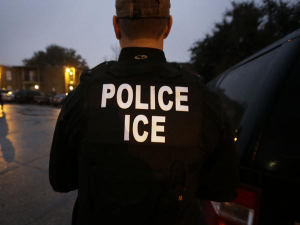 U.S. Immigration and Customs Enforcement said they arrested a man, who was on the way to the hospital with his pregnant wife for a scheduled cesarean section, because of an arrest warrant for him in Mexico related to a homicide case.
