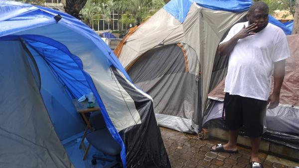 In 2014, the city of Fort Lauderdale banned the sharing of food with homeless residents.