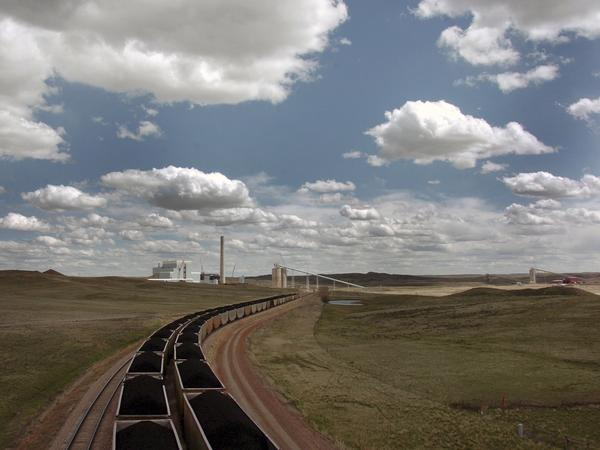 The Dry Fork Station coal-fired power plant in Gillette, Wyo., supplies electricity across the West.