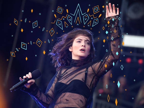 Lorde performs at the Governors Ball Music Festival on June 2, 2017 in New York City.