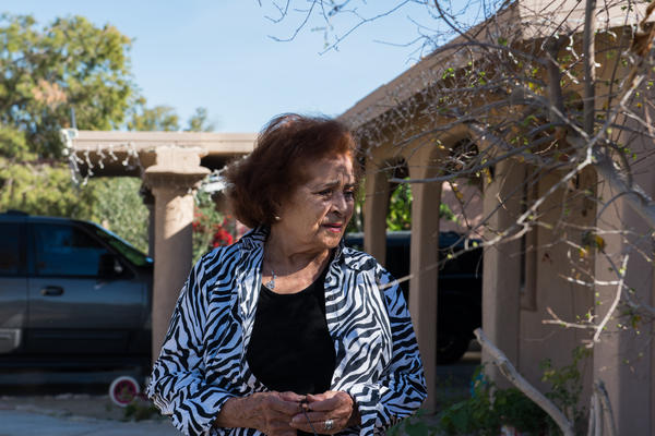 Ramona Morales, 80, was one of many residents facing large fees for a minor code violation.