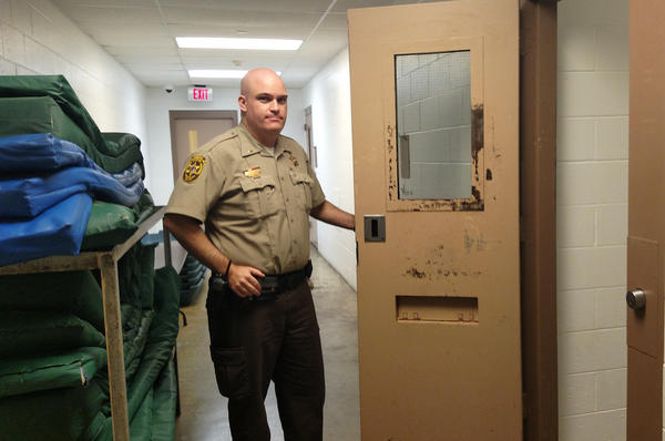 Lt. Ryan Snyder, who works at the Champaign County jail in Illinois, says it's hard for any such facility to provide the kind of one-on-one mental health treatment many inmates need.
