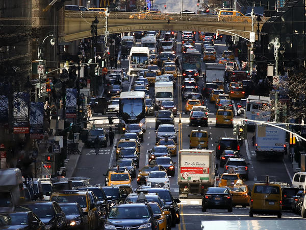 The average American commute increased to 26.9 minutes in 2017 from 26.6 minutes the year before, according to new data from the U.S. Census Bureau's American Community Survey.