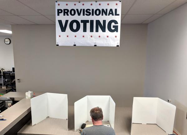 The ACLU of Kansas is suing Johnson County Election Commissioner Ronnie Metsker to gain access to a list of provisional ballot voters, and those whose votes didn't count.