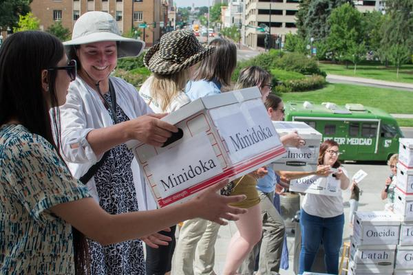 Medicaid expansion advocates gathered enough signatures for a November ballot initiative on whether to expand the federal health insurance program.