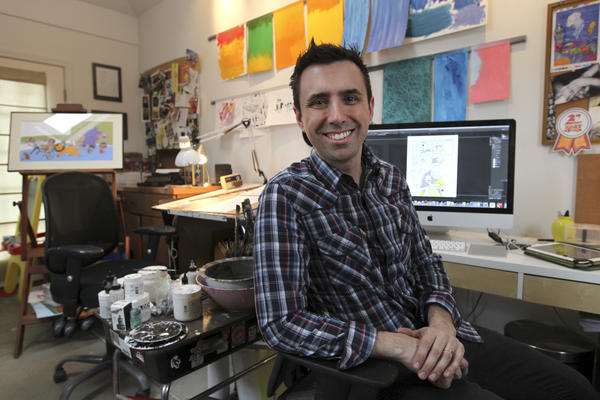 In 17 years, children's author and illustrator Jarrett Krosoczka has published 38 books, but his latest stands out from the others. <em>Hey, Kiddo </em>is a graphic memoir telling the story of Krosoczka's childhood.