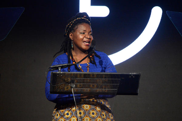 "Education activist Angeline Murimirwa was given the ""Diamond Ball Honors Award"" by Rihanna's Clara Lionel Foundation."