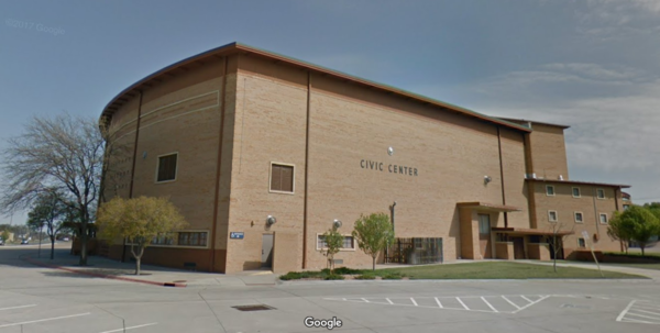 Ford County Clerk Deborah Cox moved Dodge City's only polling place from the Civic Center, pictured above, to the Western State Bank Expo Center, outside of town.