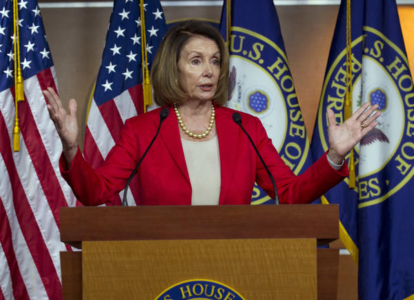 House Minority Leader Nancy Pelosi, D-Calif., has outlined a legislative agenda that includes Democratic priorities like lowering prescription drug prices and overhauling campaign finance laws.
