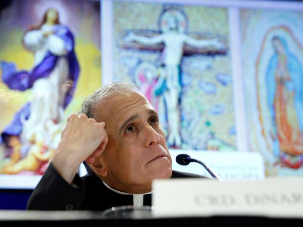 """""""I am sorry for the late notice, but in fact this was conveyed to me late yesterday afternoon,"""" Cardinal Daniel DiNardo, president of the U.S. Conference of Catholic Bishops, said Monday, postponing moves that had been touted as concrete steps in response to the clergy sexual abuse scandal."""