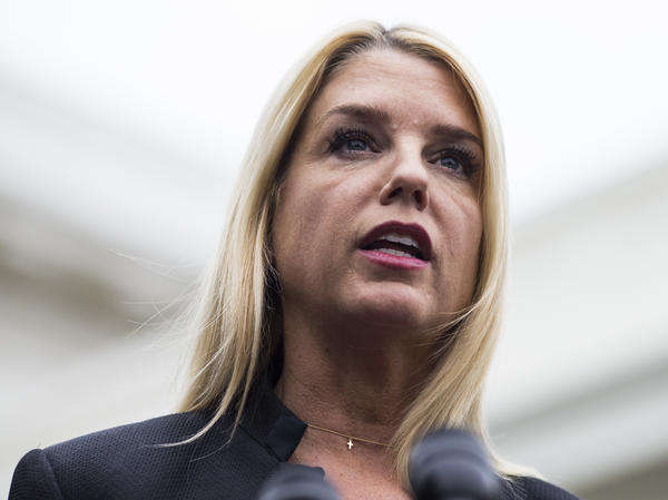 Florida Attorney General Pam Bondi said the state has added CVS and Walgreens to a lawsuit because they had not stopped suspicious orders of opioids and had dispensed unreasonable quantities of the drugs.