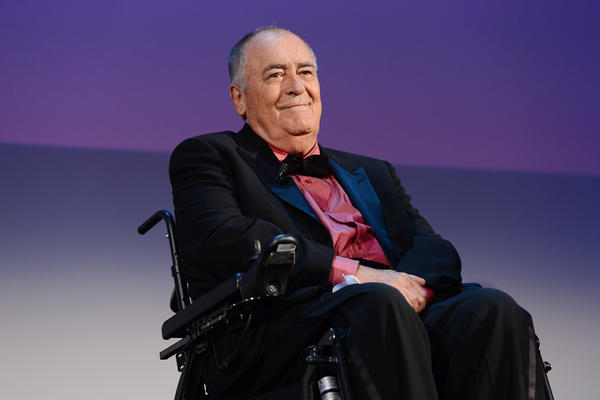 Bernardo Bertolucci on stage during the Closing Ceremony at the 70th Venice International Film Festival in 2013.