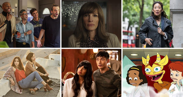 <em>Queer Eye, Homecoming, Killing Eve, Vida, The Good Place </em>and <em>Big Mouth</em> all made NPR's top list.