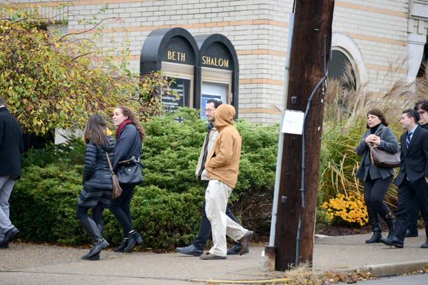 "At Congregation Beth Shalom in Pittsburgh, families across the Jewish community will gather at the annual ""Latkepalooza"" to mark their first Hanukkuh since the shooting at the Tree of Life synagogue in October."