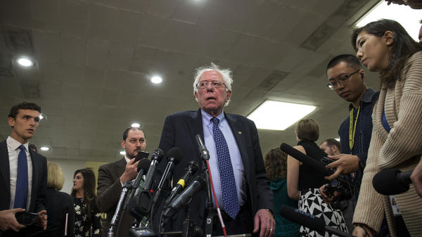 Sen. Bernie Sanders, I-Vt., sponsored the resolution to withdraw U.S. military aid from the war in Yemen with Sen. Mike Lee, R-Utah. He argues the move will garner international notice as the conflict continues.
