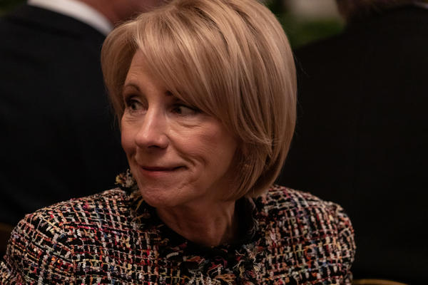 Under Education Secretary Betsy DeVos, the department took a series of steps to try to delay borrower defense from going into effect.