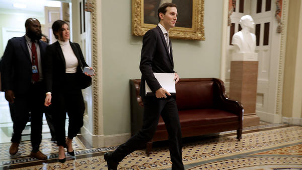 Trump adviser and son-in-law Jared Kushner, who has made overhauling the criminal justice system one of his top projects in the White House, attended the weekly Senate Republican policy luncheon at the Capitol last month.