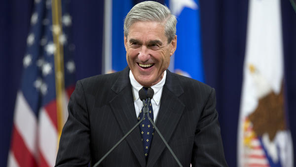 Speculation continues to run rampant about the investigation by special counsel Robert Mueller, seen at his farewell ceremony as director of the FBI in 2013.