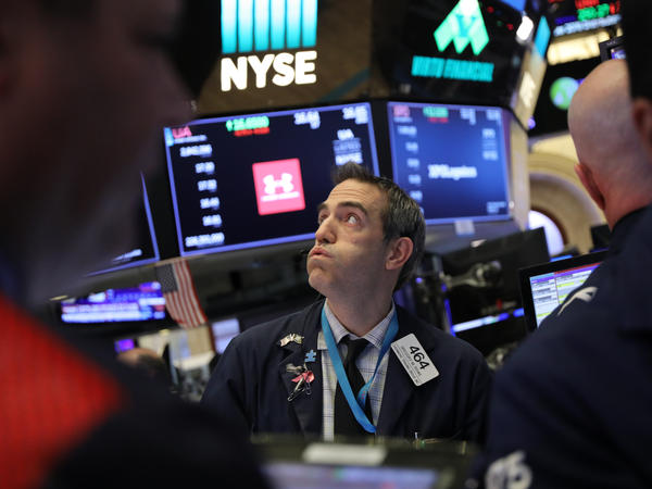 With the Dow swinging up and down hundreds of points in a day, investors are feeling queasy. One economist says uncertainty in the stock markets may mean turbulence will continue in the new year.