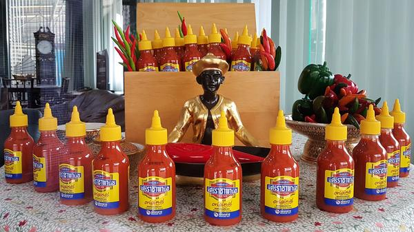 Sriraja Panich is the brand name of one of two Sriracha sauces created by Saowanit Trikityanukul's family. The family sold the brand to Thaitheparos, Thailand's leading sauce company, in the 1980s. The brand has struggled to gain a foothold in the U.S., where the Huy Fong Rooster brand of Sriracha, created by Vietnamese-American David Tran, reigns supreme.