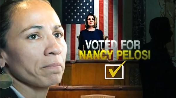 One day after Rep. Sharice Davids was sworn in, the Congressional Leadership Fund released an ad attacking her vote for Nancy Pelosi as House Speaker.