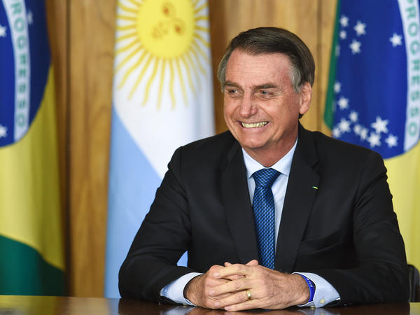 Jair Bolsonaro, Brazil's new president, is among a wave of far-right leaders who have risen on the world stage. On Tuesday, Bolsonaro will headline the World Economic Forum in Davos, Switzerland.