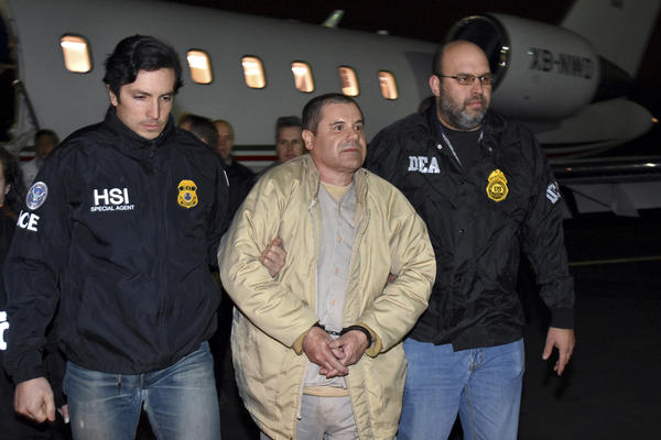 """Joaquín """"El Chapo"""" Guzmán faced 10 charges in the indictment, including engaging in a criminal enterprise — which in itself comprised 27 violations, including conspiracy to commit murder."""