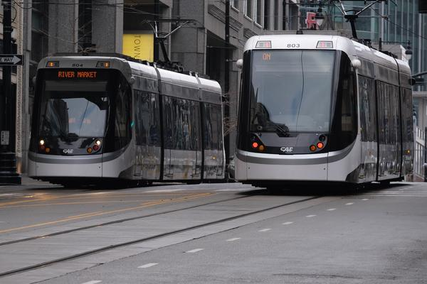 Carrying a gun on Missouri public transit, such as Kansas City buses or the KC Streetcar, is a felony.