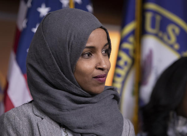 """Rep. Ilhan Omar, D-Minn., apologized for comments on social media widely condemned as anti-Semitic. House Democratic leaders called the remarks """"deeply offensive."""""""