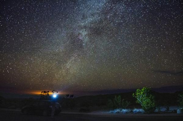 The Milky Way, as seen from Big Bend.