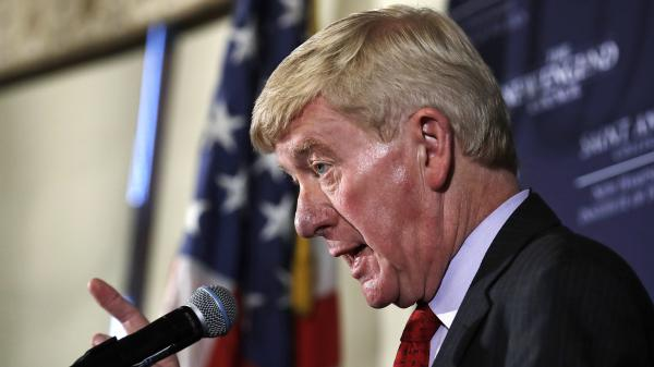 Former Massachusetts Gov. Bill Weld told an audience in New Hampshire that he is launching a 2020 exploratory committee.