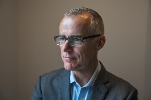Andrew McCabe talked about his new memoir with NPR's <em>Morning Edition</em>.