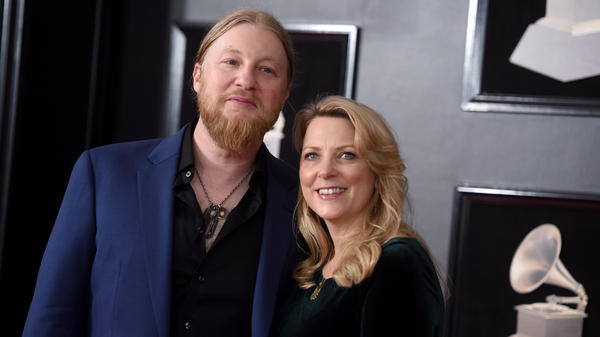 Derek Trucks and Susan Tedeschi attend the 60th Annual Grammy Awards in 2018 in New York City.