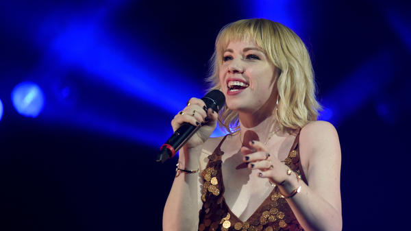 Carly Rae Jepsen performs at T-Mobile Arena on January 20, 2018 in Las Vegas, Nevada.
