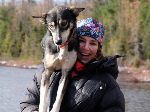 Rookie musher Blair Braverman and her dogs will compete in the Iditarod Trail Sled Dog Race, traveling more than 900 miles across Alaska from Anchorage to Nome and facing subzero temperatures and challenging trails.