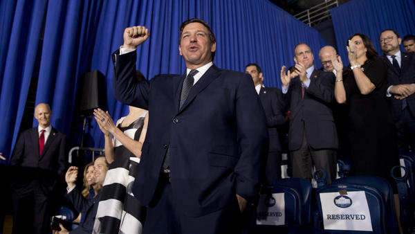 "Florida Gov. Ron DeSantis won the race for governor in part because he billed himself a 'Trump Republican."" But since becomiing governor, he is redefining what it means to be a Trump-styled conservative in the Sunshine State."
