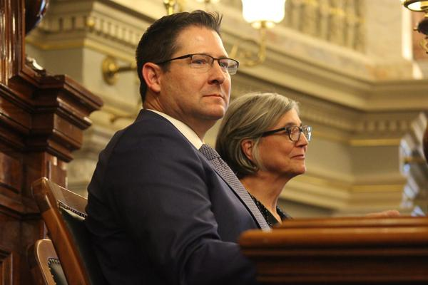 House Speaker Ron Ryckman, left, and Senate President Susan Wagle are leading chambers that could be headed for conflict in the school funding debate.