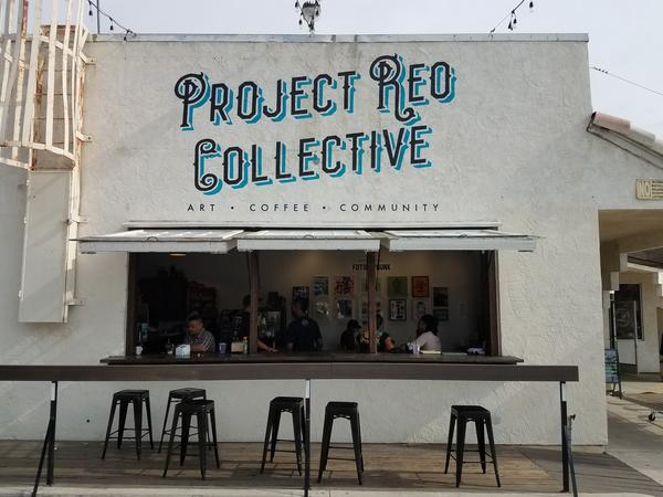 Project Reo Collective is a coffee shop in San Diego's Paradise Hills neighborhood that had trouble getting a bank loan to expand after a year of operation.