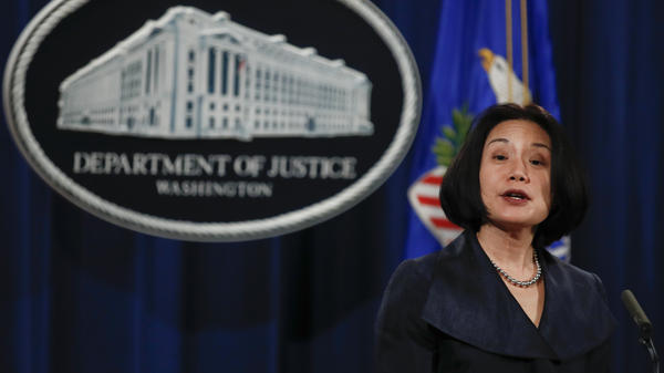 Jessie Liu, who leads more than 300 prosecutors as the U.S. attorney in Washington, D.C., will remain in that post, the Justice Department says.