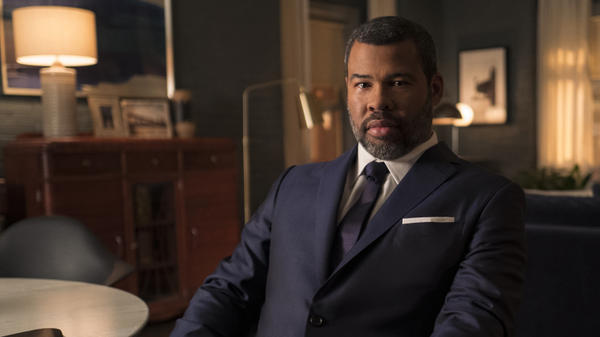 Jordan Peele acts as the narrator on the new incarnation of <em>The Twilight Zone</em>.