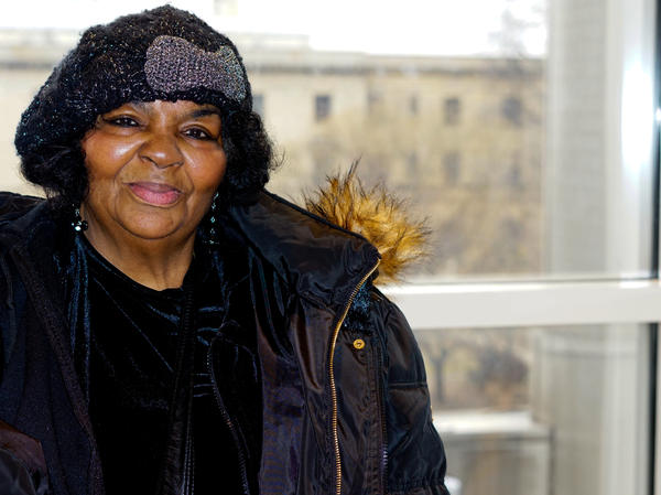 Tenant Jacqueline Davis held back rent when her landlord didn't fix damage from a burst pipe.