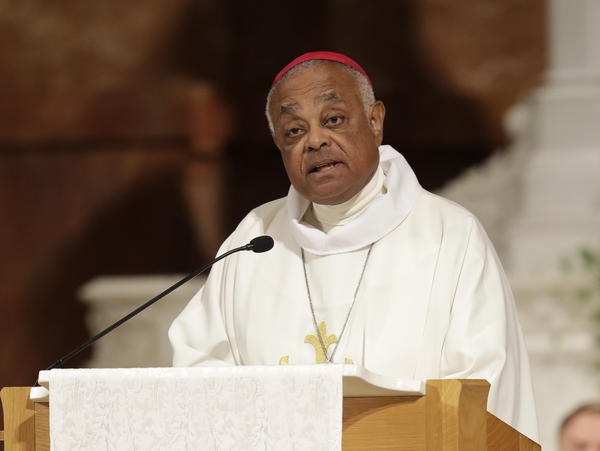 Archbishop Wilton D. Gregory speaks during a Mass to repent clergy sexual abuse and to pray for molestation victims, in Indianapolis, in June 2017. Pope Francis has named him as the new archbishop of Washington D.C.