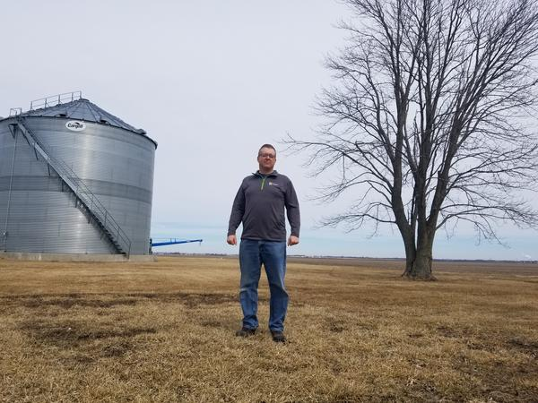 Aaron Phipps farms 2,100 acres in eastern Illinois, two miles from the Indiana border. He's been with Farmers Business Network for three years and fully supports the service.