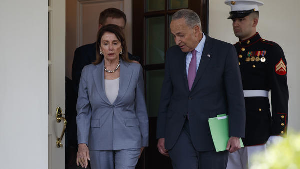 House Speaker Nancy Pelosi and Senate Minority Leader Chuck Schumer said they had a constructive White House meeting with President Trump on infrastructure on Tuesday.