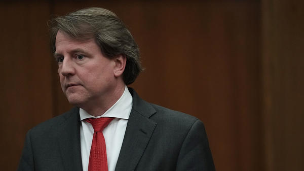Former White House counsel Don McGahn, pictured in April 2018, has been subpoenaed by the House Judiciary Committee, but the White House has directed him not to comply with the document request.