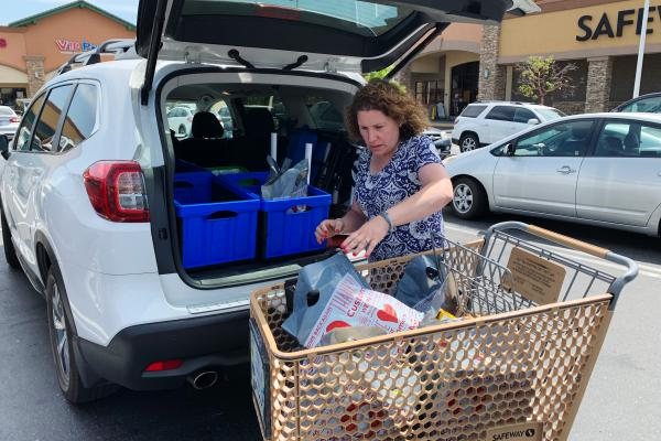 """""""I had one day I worked six hours and made $50. It really wasn't worth it. ... But it doesn't happen that often,"""" says Hilary Gordon, who works as a shopper for the grocery delivery app Instacart in a suburb of Sacramento, Calif. """"The other day I worked 11-and-a-half hours and made $265. Great? No. But good."""""""